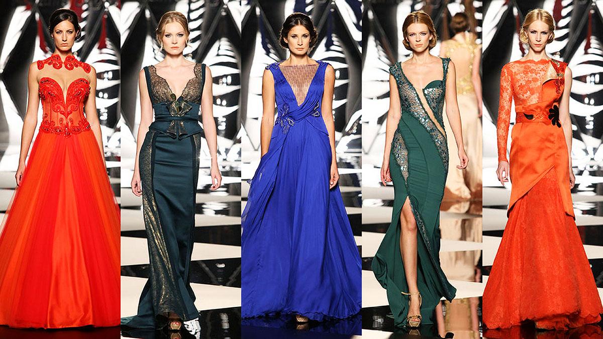 Вечерние платья 2015 от кутюр